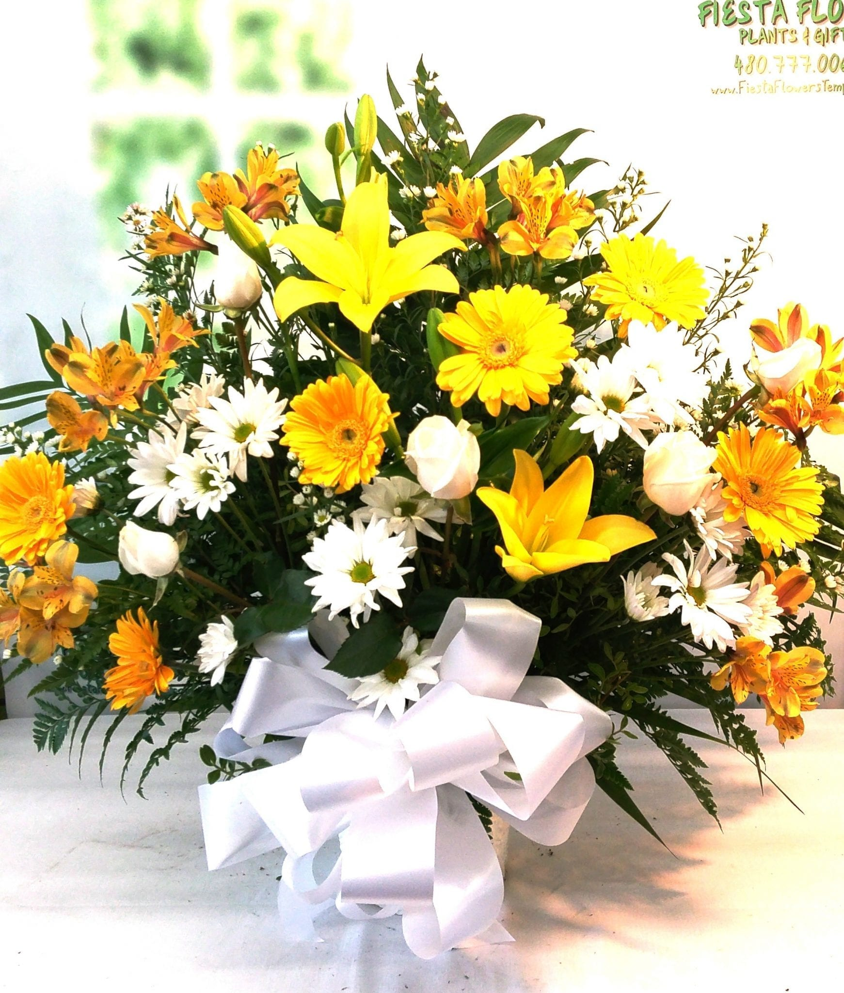 Next day delivery yellow lily and gerbera daisy tribute fb 507 1 next day delivery yellow lily and gerbera daisy tribute fb 507 1 izmirmasajfo