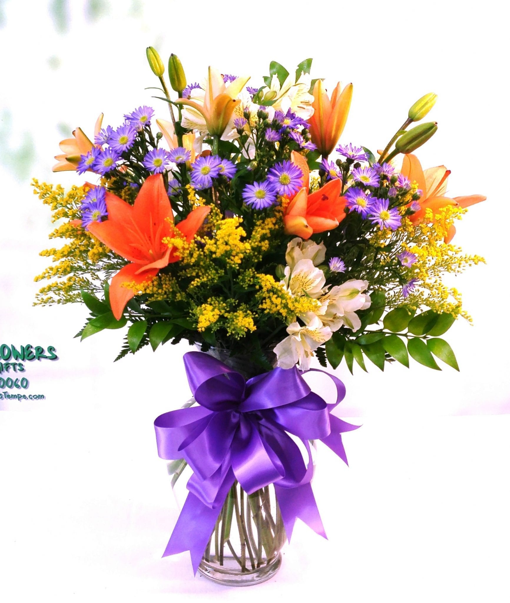 Same Day Delivery Birthday Bonanza Bouquet Fiesta Flowers Plants