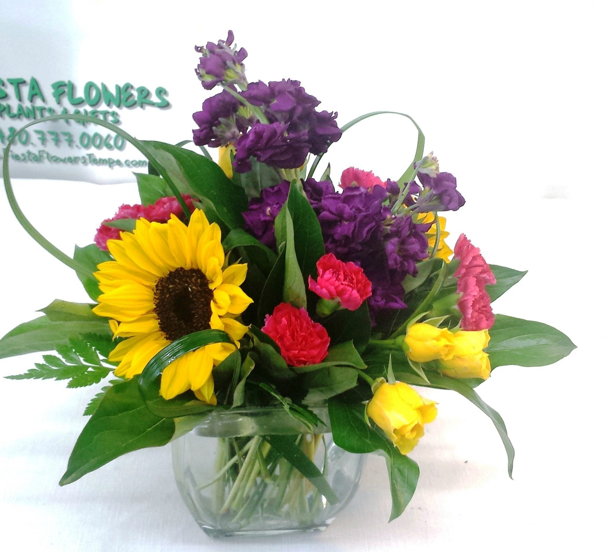 SAME DAY DELIVERY Blossoms in Vogue V 1010 Fiesta Flowers Plants & Gifts