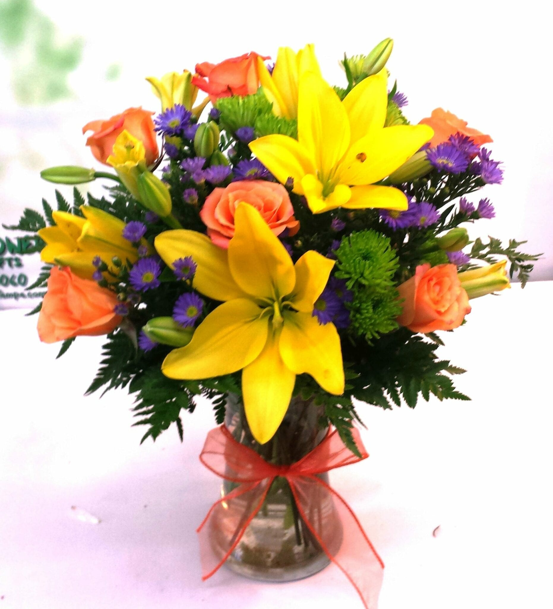 SAME DAY DELIVERY Cheerful Giving Bouquet