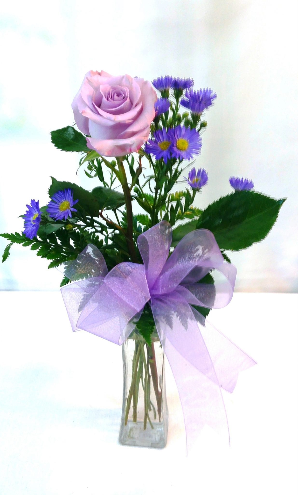 Classic Single Rose-Purple