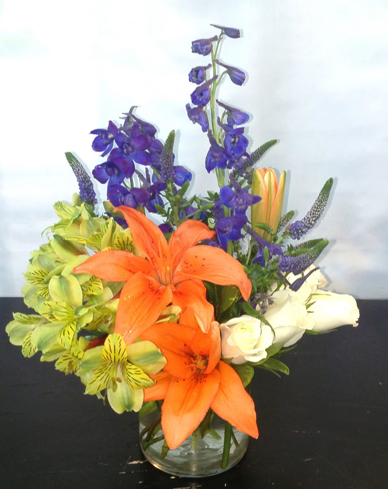 SAME DAY DELIVERY Contemporary Delphinium