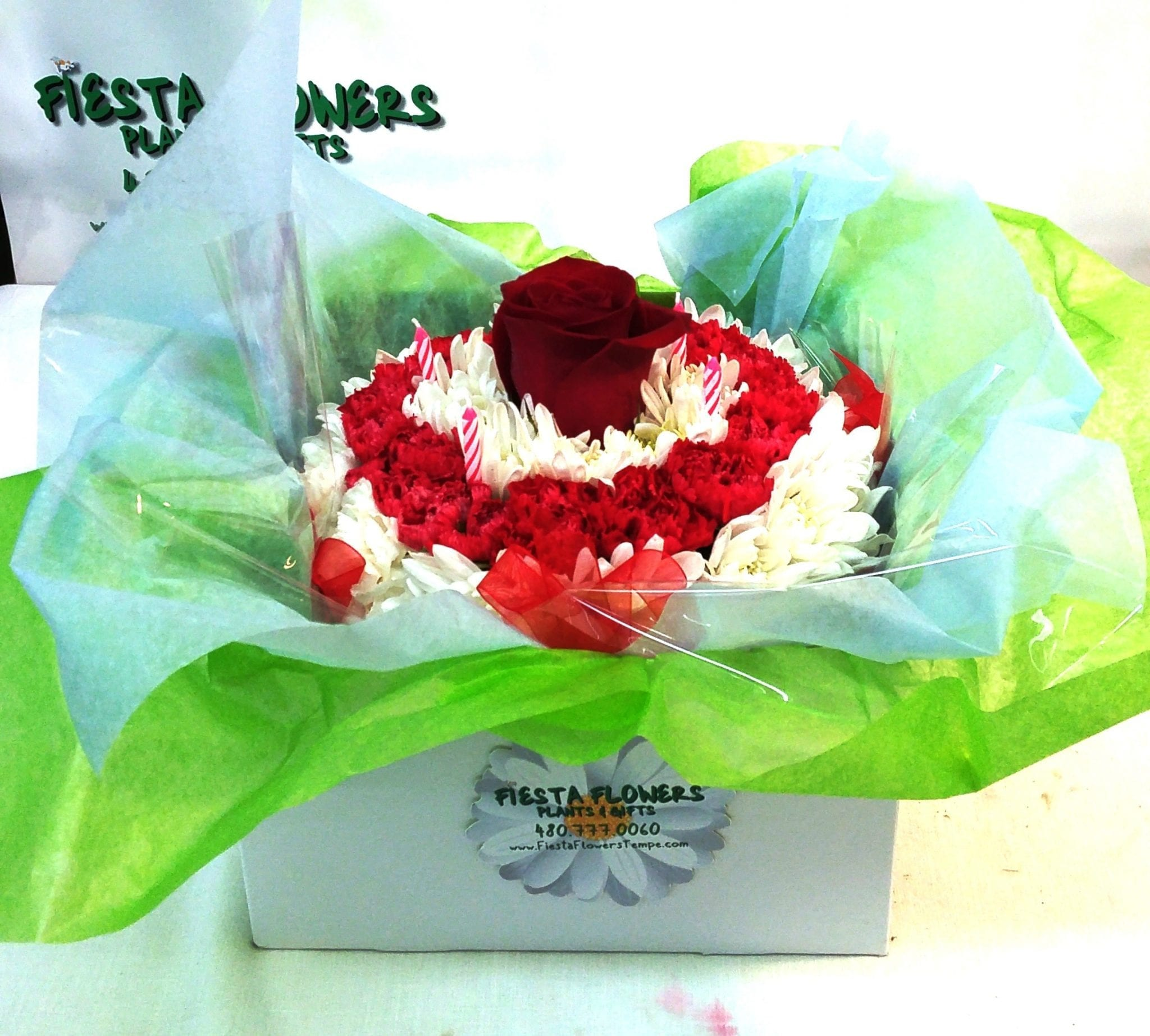 Same Day Delivery Fiesta Birthday Cake Fiesta Flowers Plants Gifts
