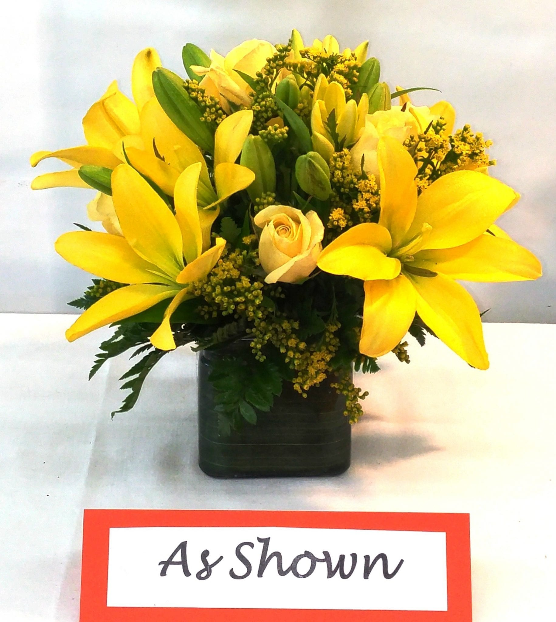 SAME DAY DELIVERY Fiesta Embrace in Yellow Fiesta Flowers Plants & Gifts