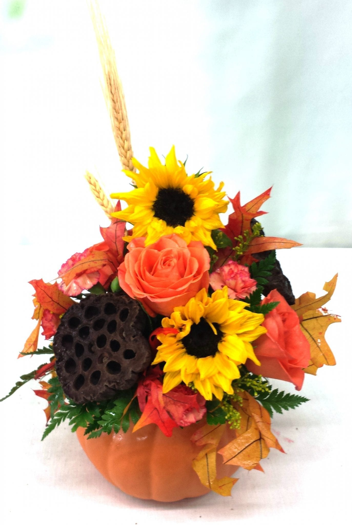 Fiesta Fall Pumpkin