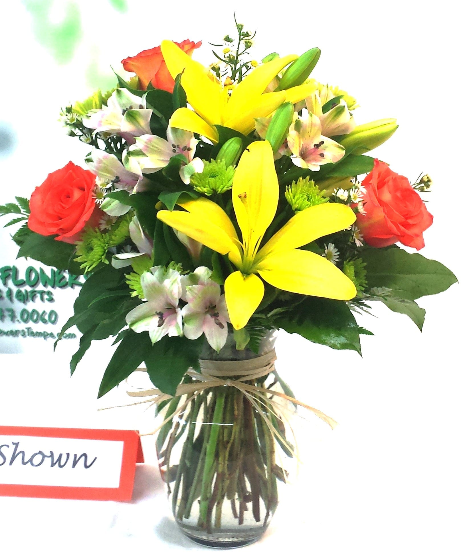 SAME DAY DELIVERY Fiesta Fields of Flowers Bouquet Fiesta Flowers Plants &a