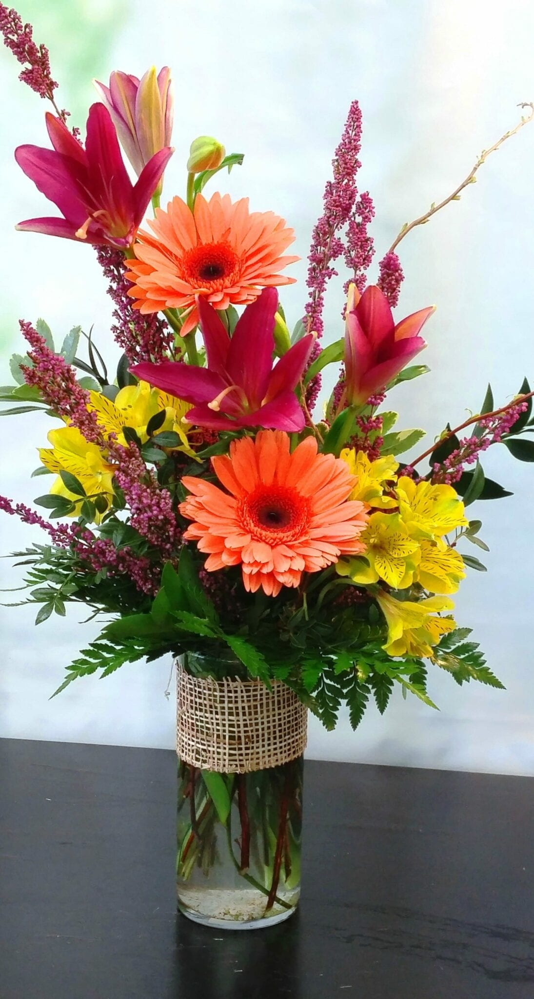 SAME DAY DELIVERY Gerbera Sunshine Bouquet