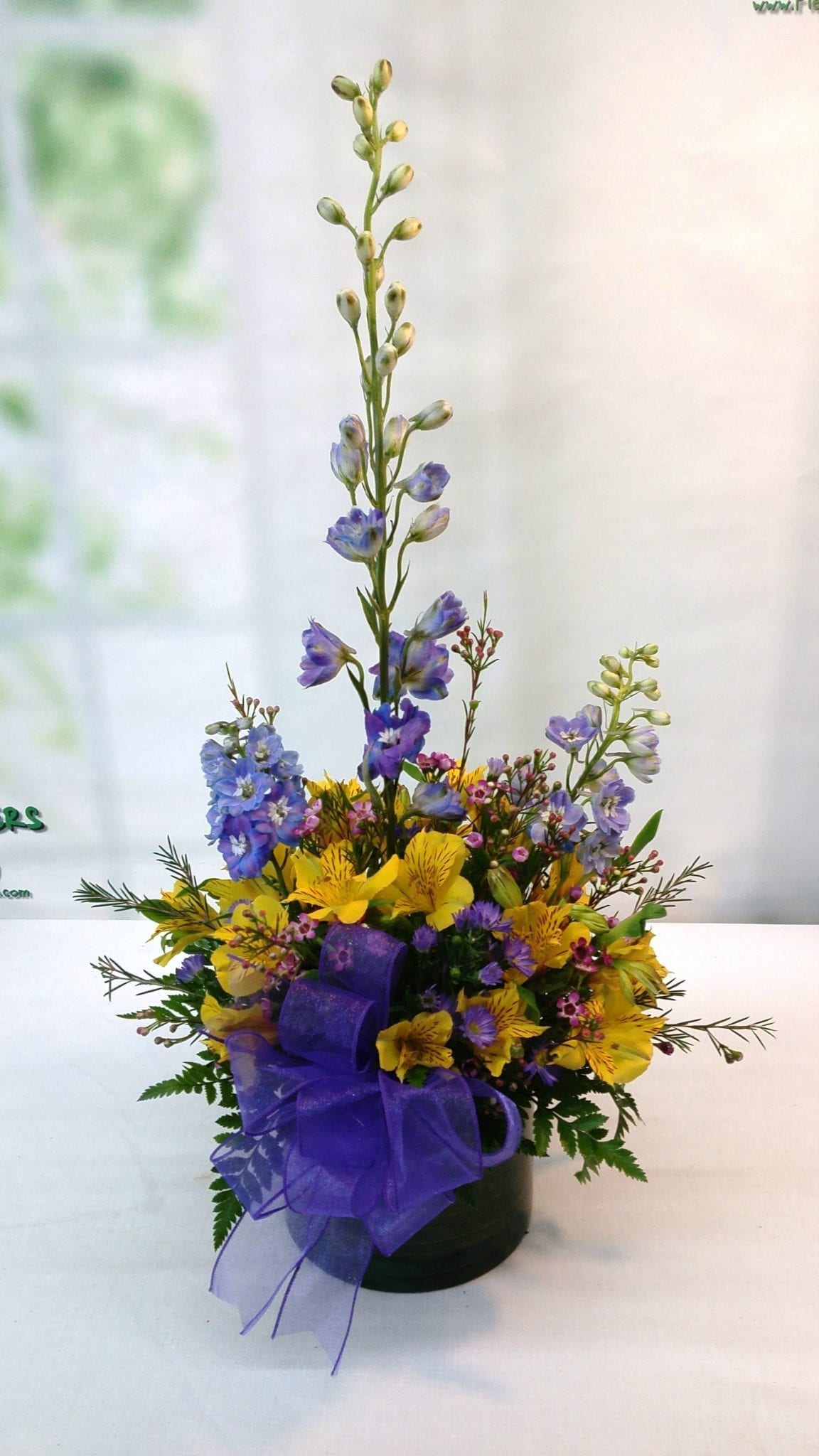 SAME DAY DELIVERY Glass Garden Bouquet