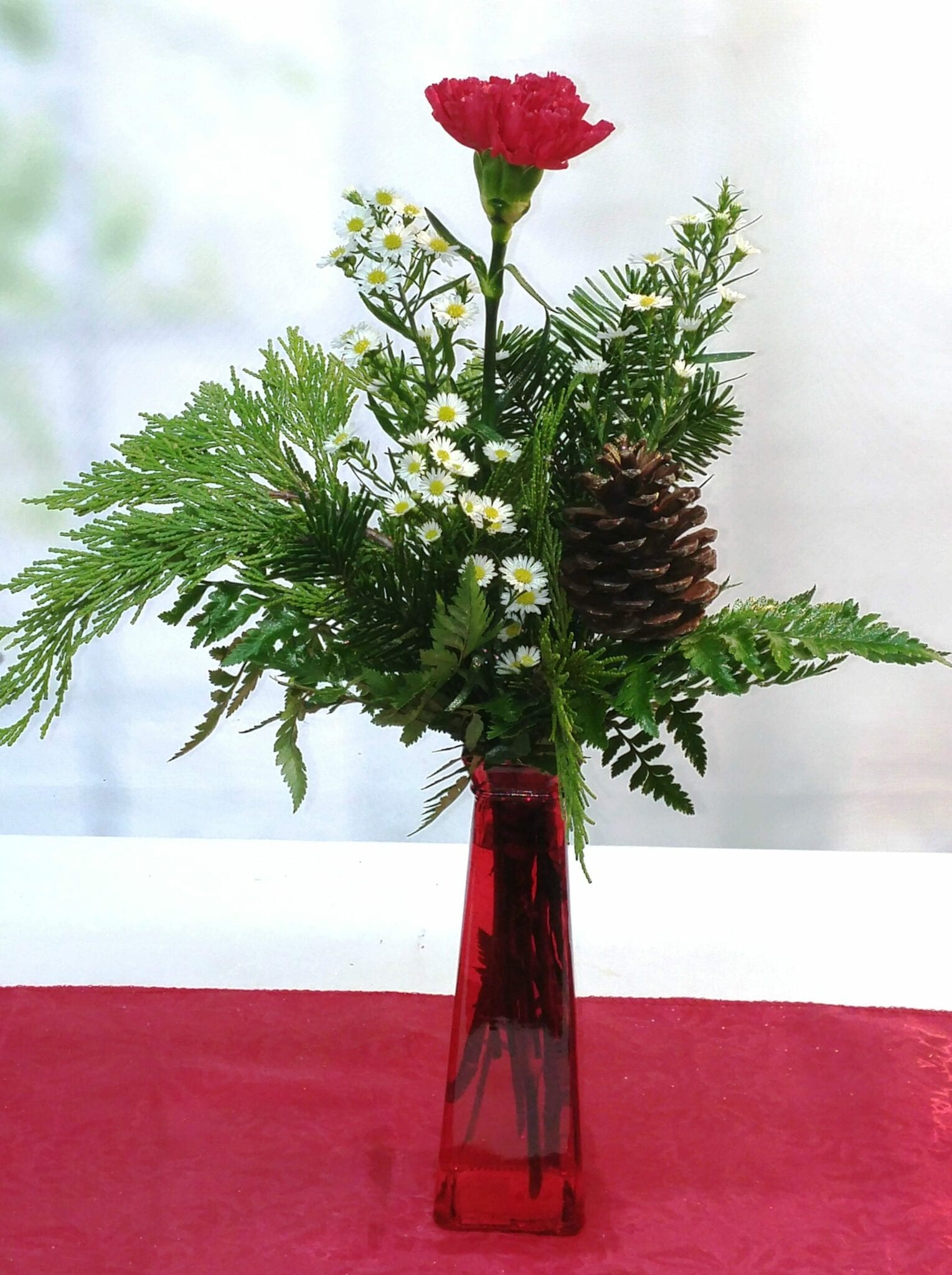Holiday Bud Vase
