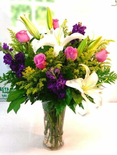 SAME DAY DELIVERY Lavender Lily Bouquet