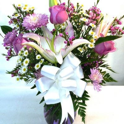 SAME DAY DELIVERY Lavender Sunshine Bouquet