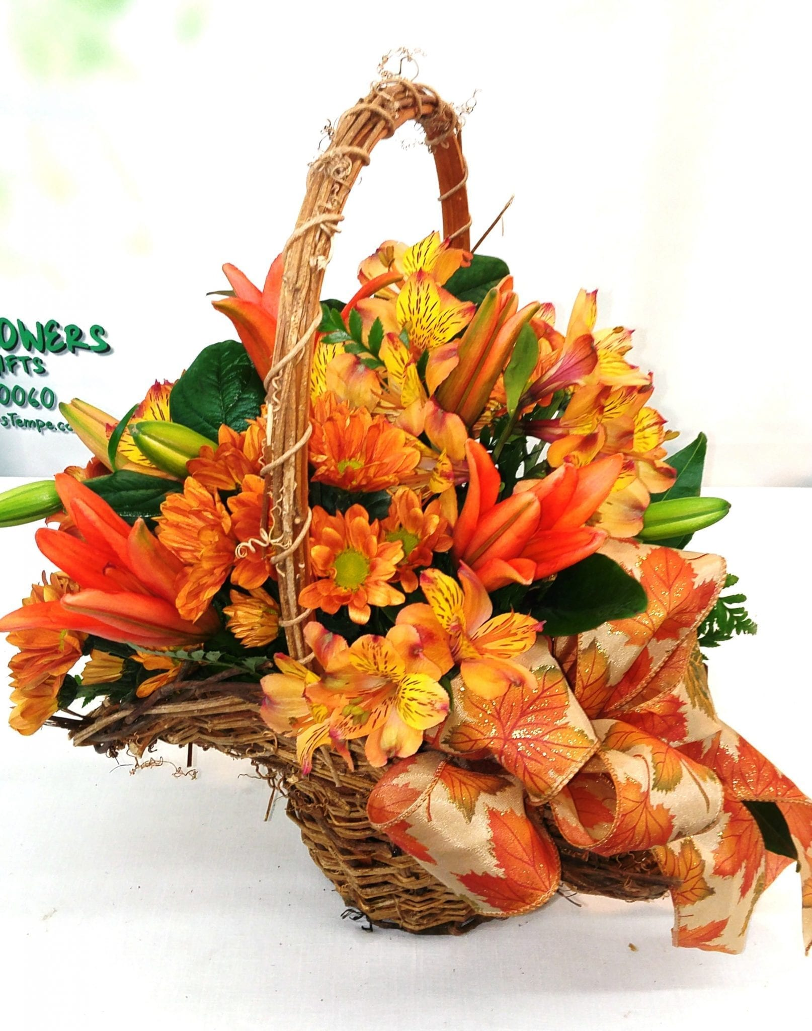 Orange Basket of Love