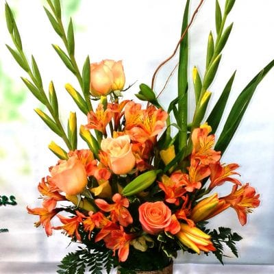 SAME DAY DELIVERY Orange Lover Bouquet