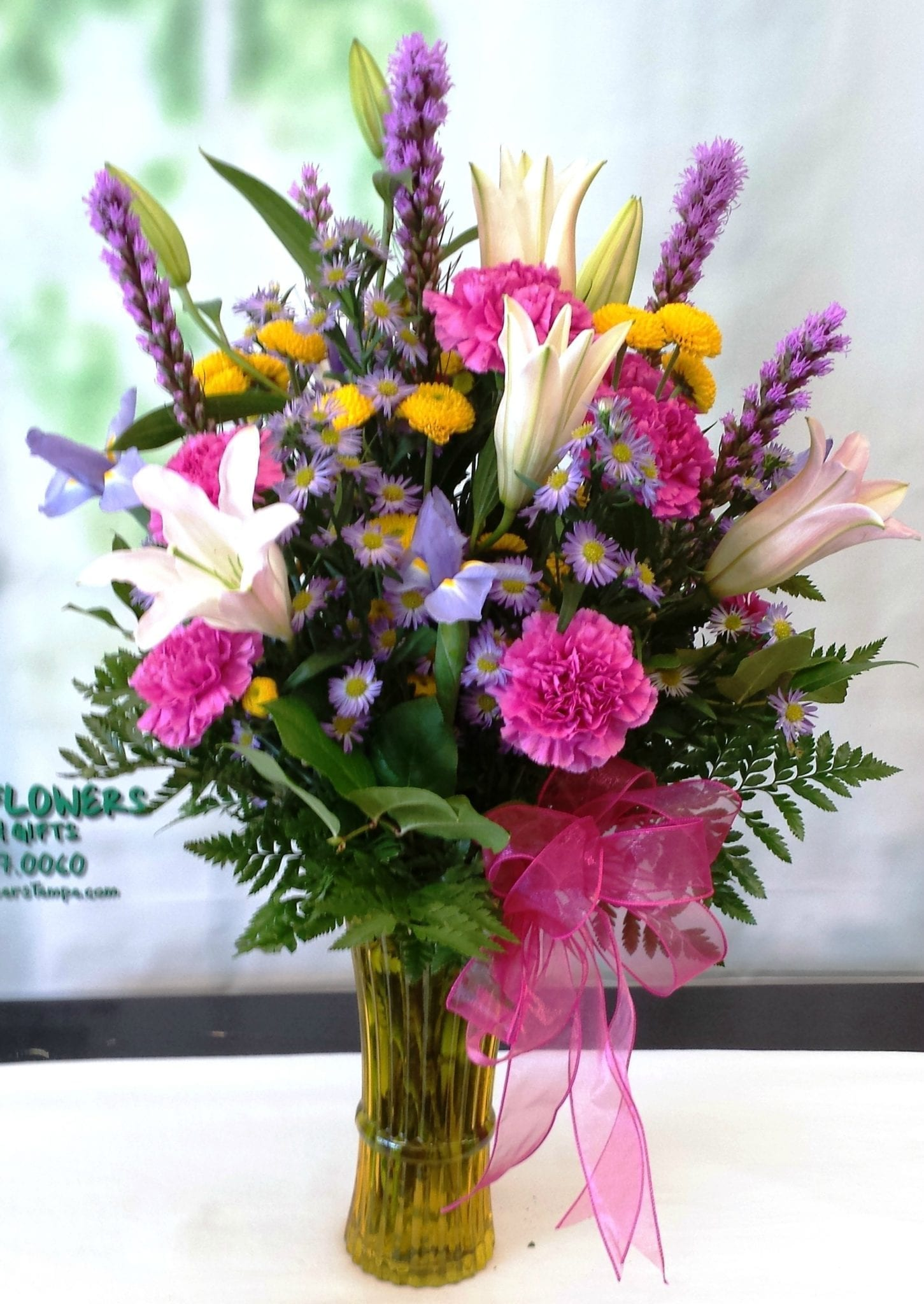 Same Day Delivery Pretty In Pink Lily Bouquet Fiesta Flowers