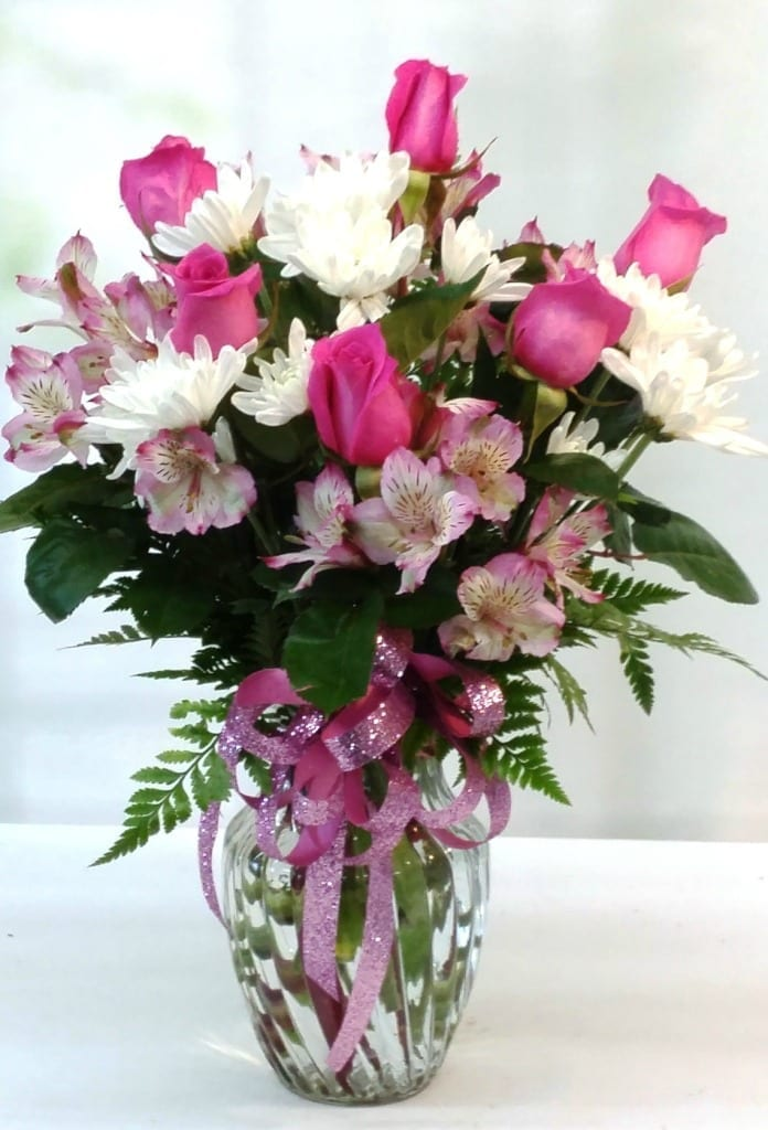 SAME DAY DELIVERY Princess Pink Bouquet