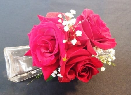 Red Rose Corsage (CB-379)