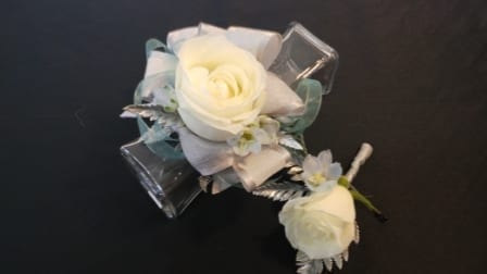 Royalty Combo Corsage & Boutonniere (CB-736)