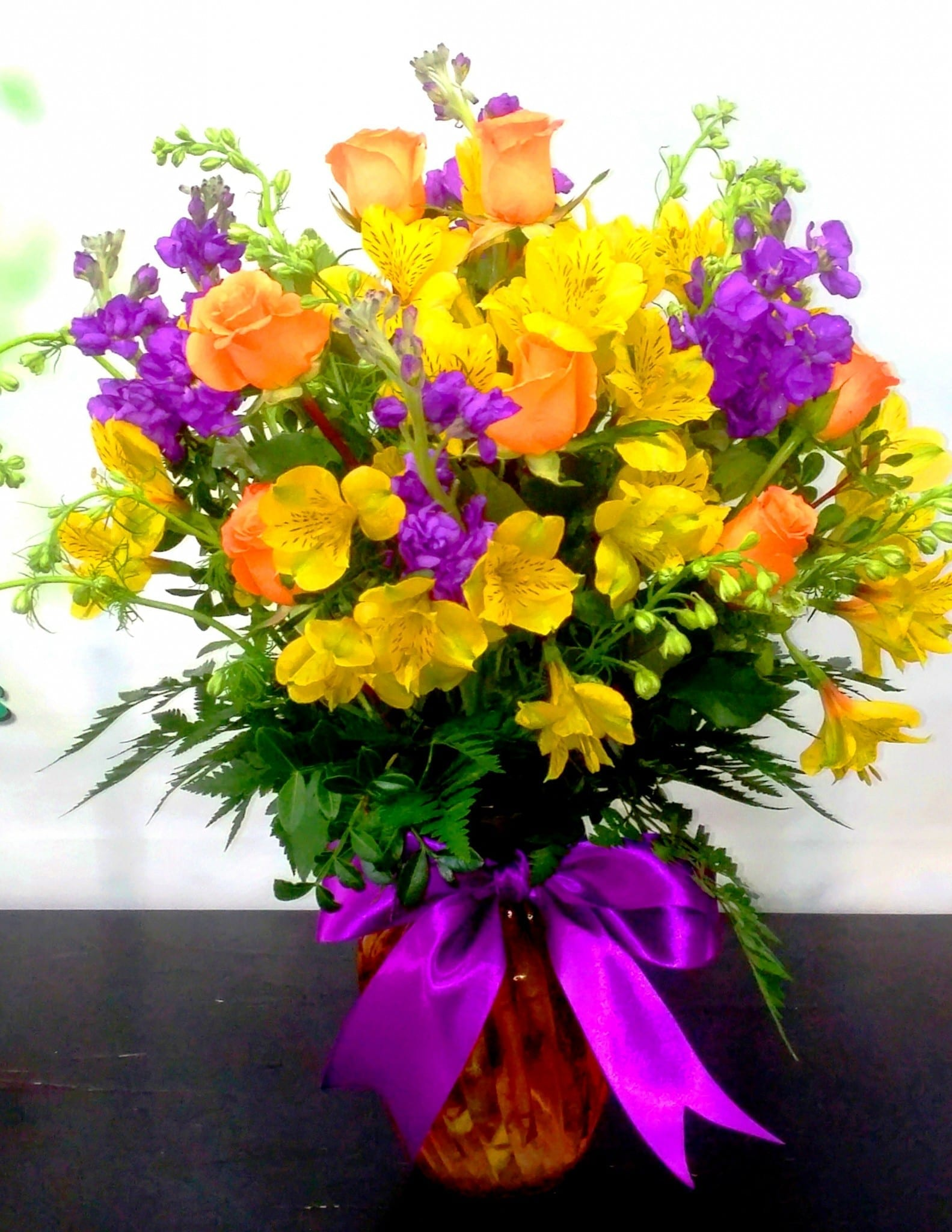 Springtime Yellow Bouquet