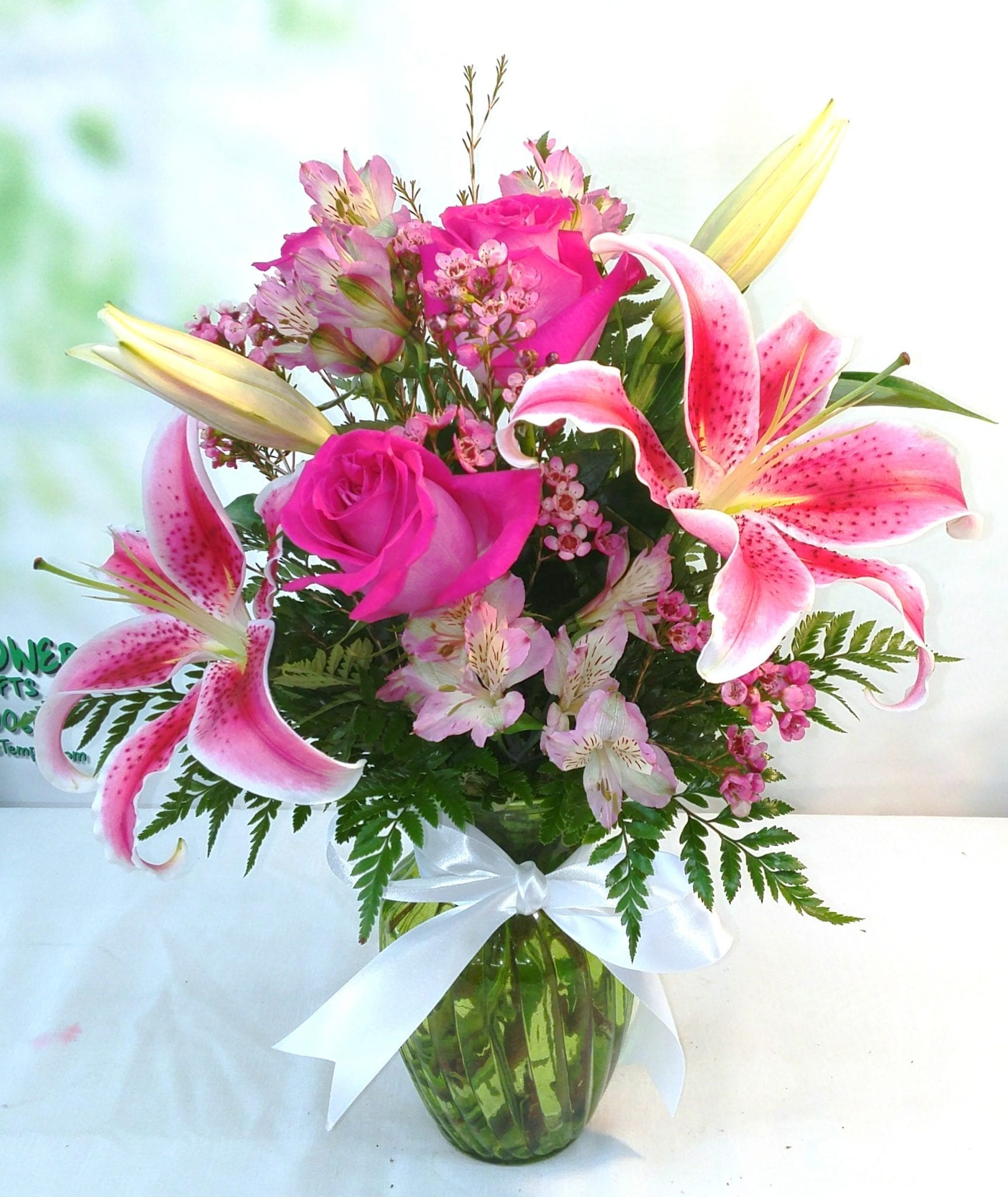 Lilies Flower Arrangements Bouquet Delivery Fiesta Flowers