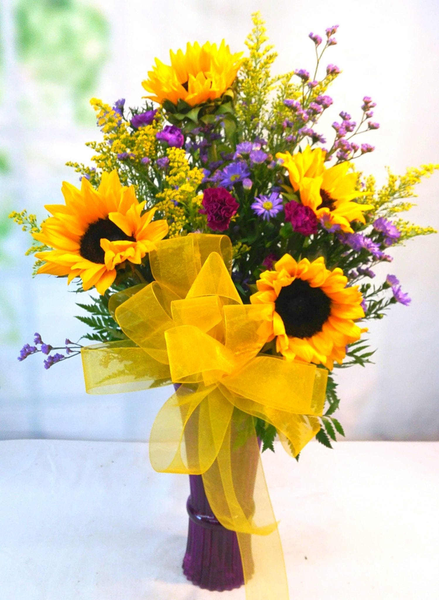 Sunflower Spectacular V 1137 Fiesta Flowers Plants Amp Gifts