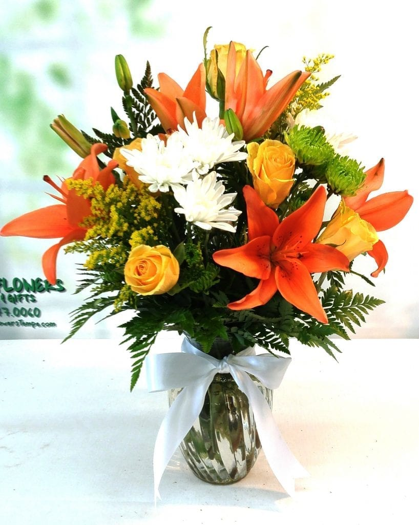 Sunrise Bouquet Same Day Delivery Fiesta Flowers