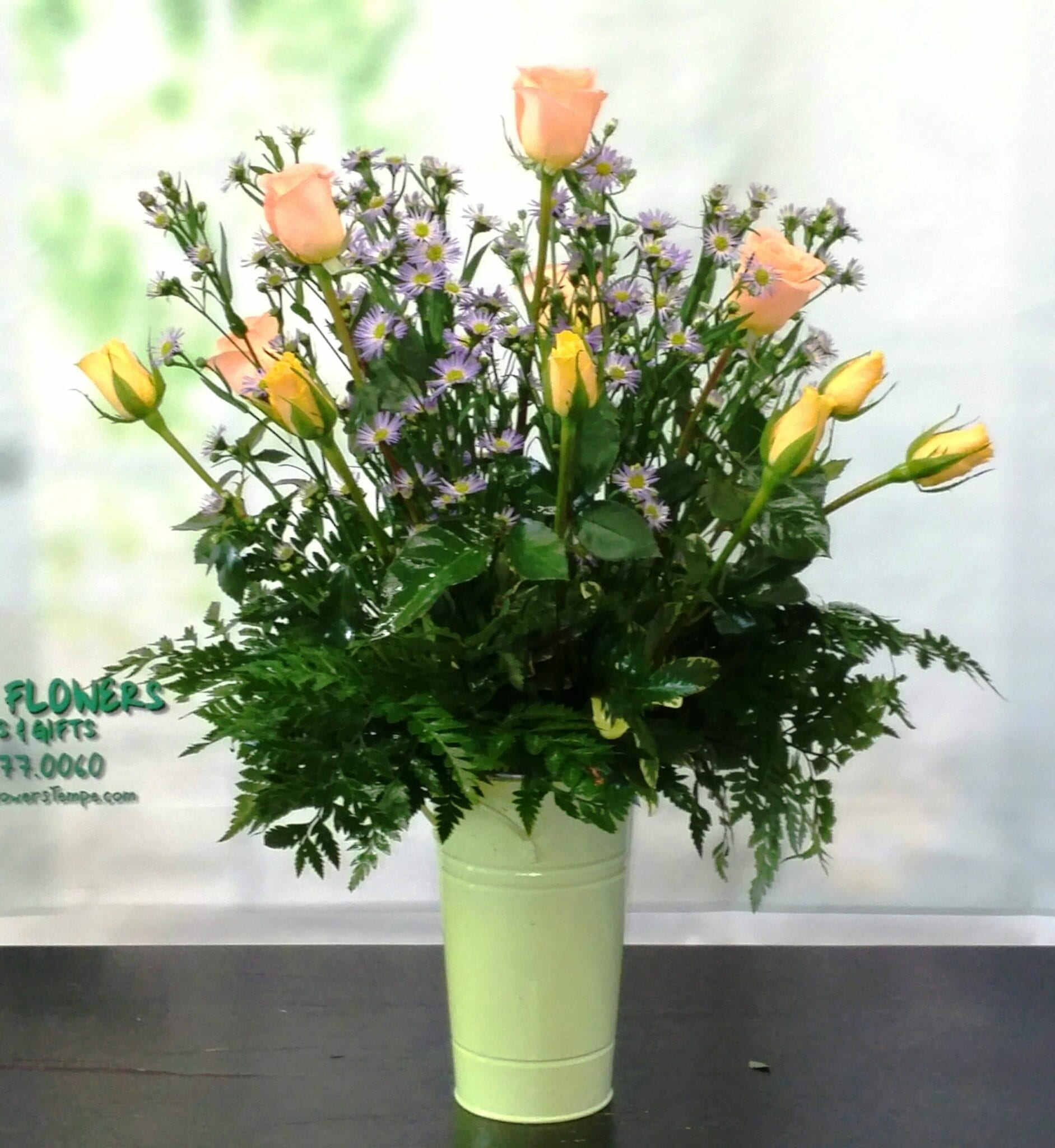 SAME DAY DELIVERY Suzie Rose Bouquet Fiesta Flowers Plants & Gifts