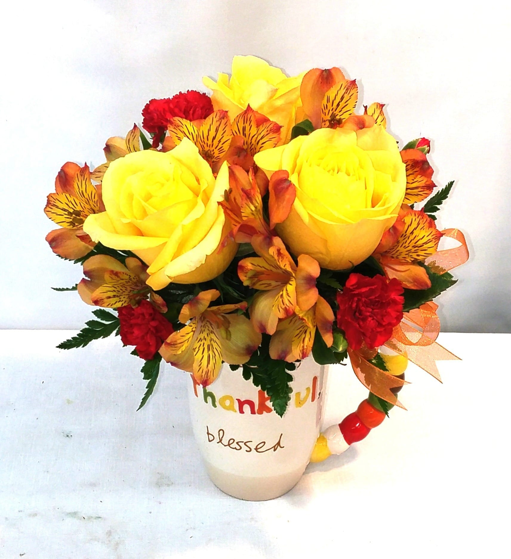 Thankful Mug Bouquet