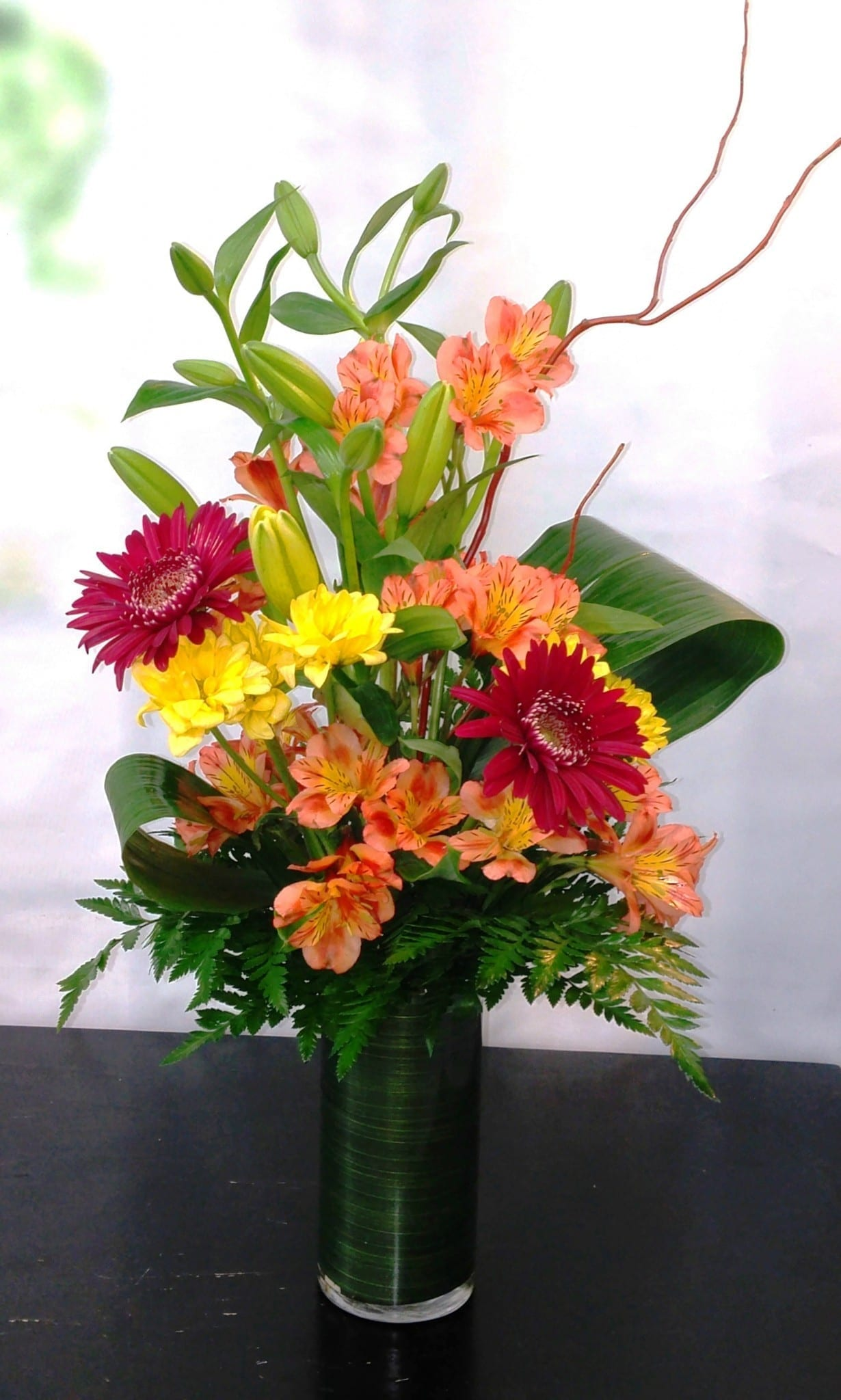 Tropical Orange Bouquet