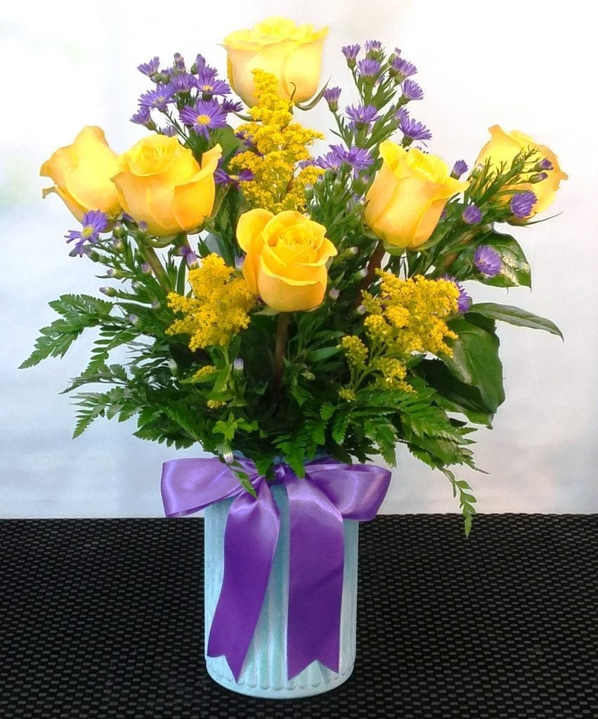 Same Day Delivery Yellow Rose Of Texas R 1738 Fiesta