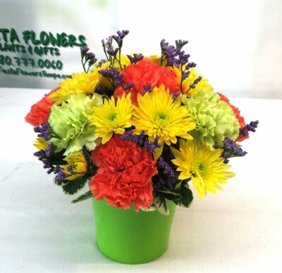 SAME DAY DELIVERY Cheerful Wishes Bouquet