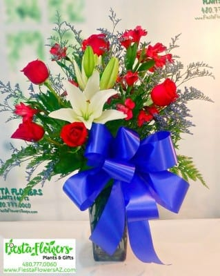 Patriotic Tribute Bouquet