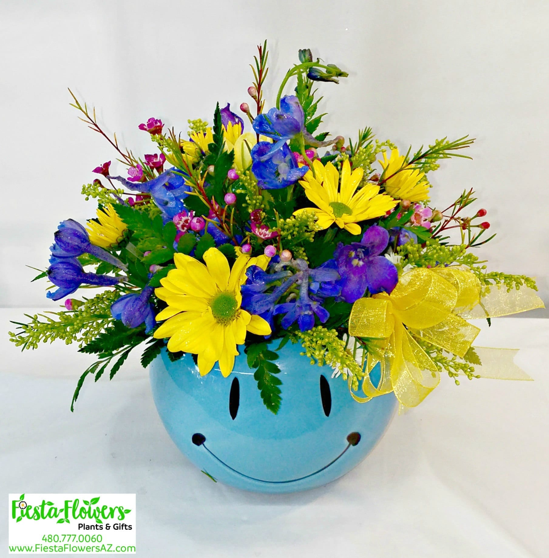 Fiesta Flowers Smiley Bouquets and Flower Arrangements