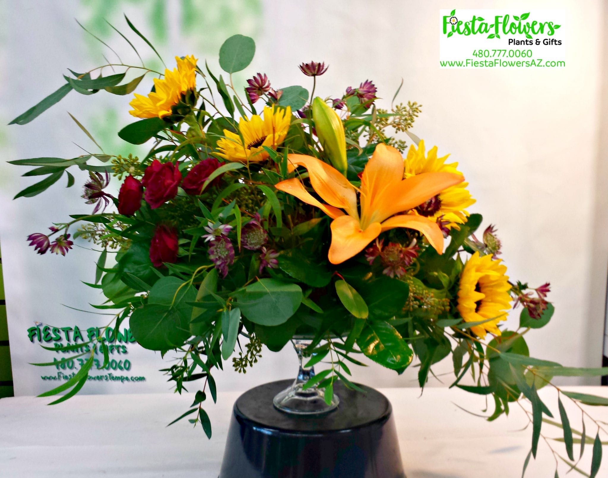 Local flower shop in tempe az fiesta flowers plants gifts harvest sunflower compote if 847 izmirmasajfo