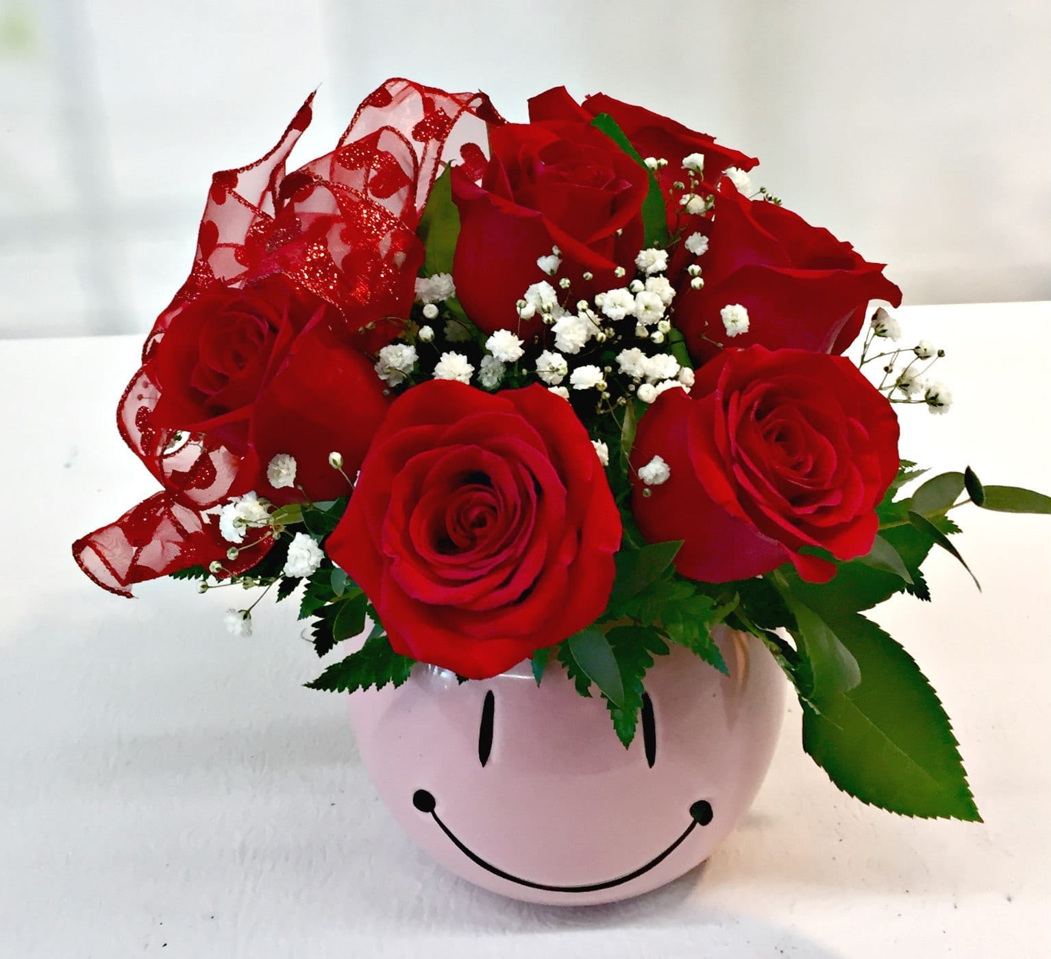 Fiesta flowers smiley bouquets and flower arrangements same day delivery be mine smiley y 1816 izmirmasajfo